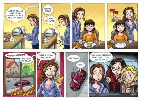 Shadowbinders webcomic page 50 by KneonT