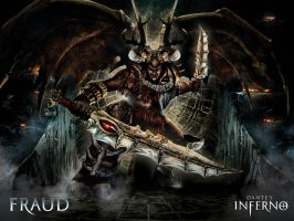 dantes inferno by Xr0ntnEm