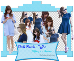 Pack Render Nyca (Tiffany and Jessica ) by Keidien