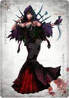 Snow and Ashes: Witch Zodiac by ZAQUARD