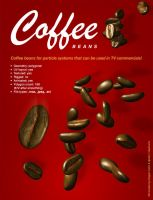 Coffee Bean for Particles 3Ds by djnick2k
