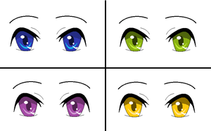 Eye color by Jeremiah4