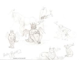 Teh Doodle Page by Spudnuts