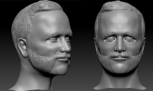 Another random ZBrush Bust by Eowynu