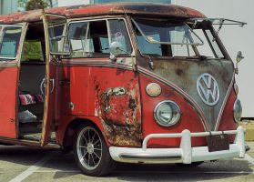 VW Bus Used and Abused by ScottJWyatt