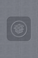 iOS5 cYDIA Wallpaper - Grey - Center by KoKaine