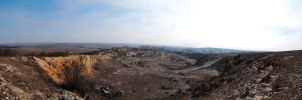 Pano from Sitorman Quarry by geographu