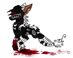 :The blood will run...so you'd better too~!: by RiotLizard