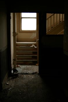 Upstairs...? by hyannah77-stock