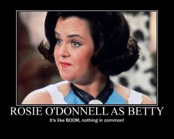 Rosie O'Donnell in The Flintstones Movie by JohnMarkee1995