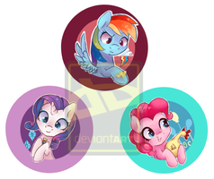 harmony buttons 1 by mapony240