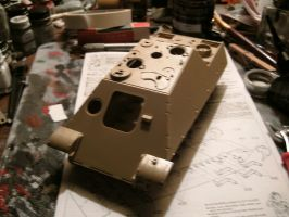 Tamiya 1/35 Jagdpanther late wip 1 by DelosQAndrews