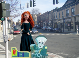 Tillie and Merida in Suffern by hot293wildcat