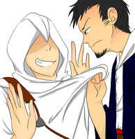 AC - Malik and Altair by PochiMochi