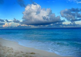 Early evening in Cancun by rebekahlynn-photo
