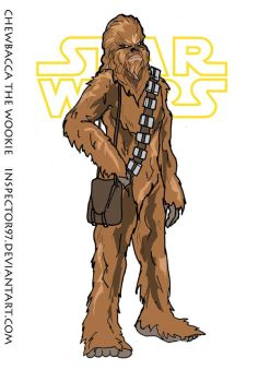 Chebacca the Wookie by Inspector97