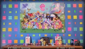 Pony Poster and Collection with Thanks by TheBronified