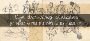 Life Drawing sketch complilation by GreyRadian