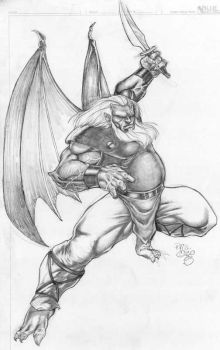 Hudson from the Gargoyles anim by razz007