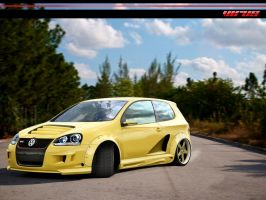 vw Golf. by virus-tuner