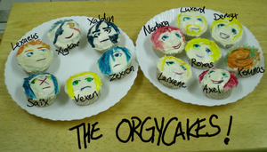 The OrgyCakes by musical-conniption