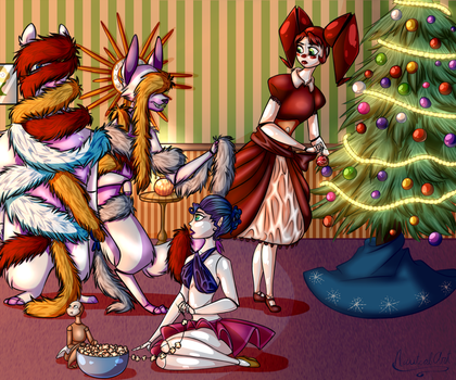 Tinsel Trouble by HerpaDerp6