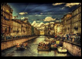 Canal Dreams HDR by ISIK5