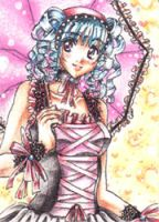 Gothic Lolita ACEO by Jacki-S