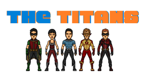 The Titans (Ultimates 52) by Hernan20X