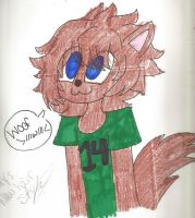 nicky the wolf- new and improved! by LaTigressa1