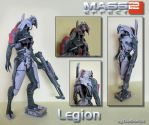 Legion Papercraft by DaiShiHUN