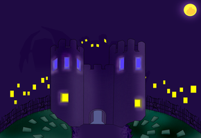 Castle Frightmare by pikmin789