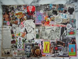 COLLAGE A FAMILY THANG by FRANTASEE