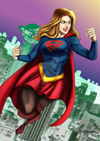 Supergirl by roemesquita