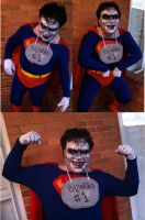 Bizarro Superman Costume Halloween 2011 by kevinbolk