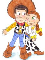 lil' woody and jessie by pookyns-5