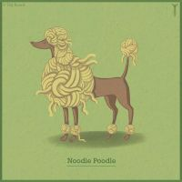 Noodle Poodle by TrollGirl