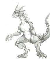 Kaiju Concept: Azayla, revisited by SXGodzilla