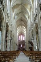Main Aisle, Cathedral, Soisson by noelholland