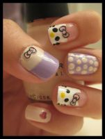 Hello Kitty nails_1 by xstdx