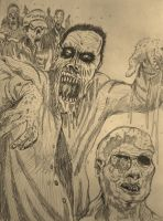 Zombies by Thelostsoulofpop