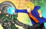 Commission: Naruto vs Inves by manu-chann