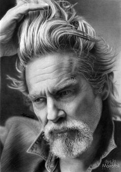 Jeff Bridges by Mahbopoli