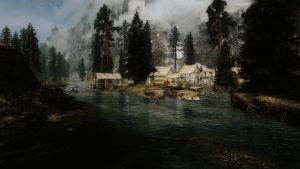 Screenshot: TES5 Skyrim: Riverwood by bakaprincess85