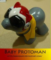 Baby Protoman by AnimeAmy