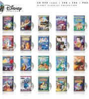 Disney Classics DVD by edenprojects