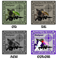 Sniperity Patches Design by sudro