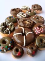 Chocolate Donuts by sodaMay