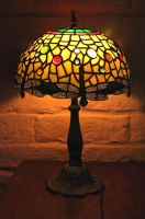 Tiffany style Leadlight Lamp by Digimaree