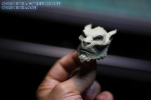 Lycan head by EvilNinjaChris